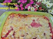Flan prunes fromages blanc