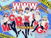 L'animé WWW.WORKING!! simulcast VOSTFR chez Wakanim