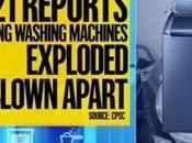 lave-linge Samsung explosent alors qu'ils étaient fonctionnement