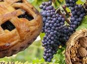 """Recette tarte """"linz"""" raisins noix (Cuisine juive, parve, Rosh Hashana)"""