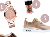 Wishlist Shopping Rose Gold