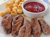 Magret Canard coulis prunes