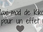 Mascara Maxi-mod Kiko, mini brosse pour effet maxi