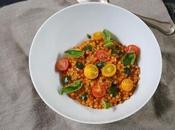 Risotto fregola sarda tomate