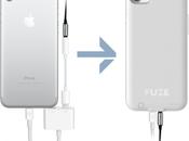 Fuze: coque fournit port jack votre iPhone