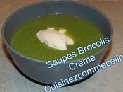 Soupe Brocolis Crème