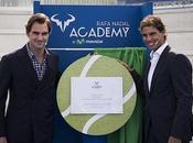 Rafael Nadal inaugure académie avec meilleur ennemi Roger Federer
