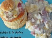 Bouchée Reine jambon, quenelle, champignon, emmental