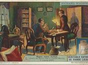 Richard Wagner dans chromos Liebig: comme étudiant chez chantre Weinlig Leipzig (1831)