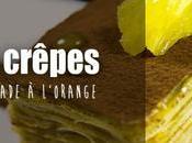 Carré crêpes épices marmelade d'orange