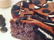 Gâteau fondant chocolat Oreos
