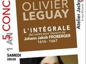 L'intégrale suites pour clavecin Froberger Olivier Leguay Oyonnax