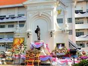 octobre 2016: Udonthani: Commémoration mort Chulalongkorn (Rama