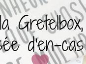 teste Gretelbox, composée d'en-cas sains