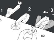 Comment coudre boutons sans fil?