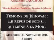 Conférence Havre Témoins Jéhovah, refus sang... mène mort