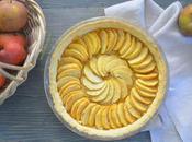 Tarte pommes sans gluten(vegan)