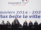 Promesse baisse impôts, 1000 habitants plus, grands travaux investissements maire Louviers refuse ronronner