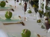 Succulentes pommes vertes