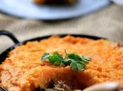 Parmentier confit canard patate douce