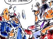 Caricature Fidel Castro