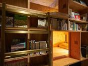 hôtel vous propose chambres dans bibliothèque