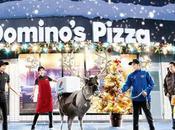 Japon rennes Domino's Pizza vont livrer clients hiver