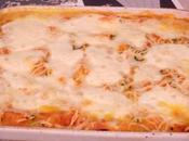 Gratin purée courgettes bacon/chorizo