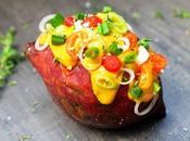 Patates douces farcies {vegan}