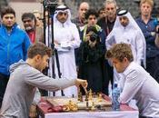 partie d'échecs entre Carlsen Karjakin
