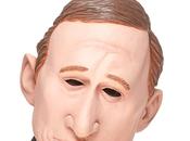 Masque Vladimir Poutine latex
