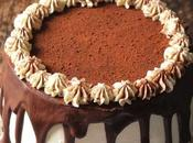 Layer cake poire chocolat