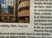 fermeture …………………l'année commence avec Musée Mendjisky