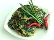 Recette galettes d'épinards épicées (cuisine indienne, végétarien, vegan)