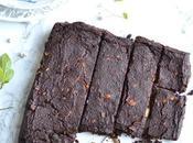 Brownie chocolat banane cajou l'okara noisette Sans Gluten Vegan