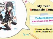 light novel Teen Romantic Comedy annoncé chez Ofelbe