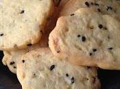 Biscuits apéritif fromage brebis graines nigelle