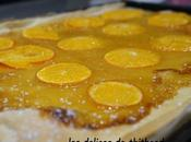 Pizza clémentines huile d'olive (recette autour d'un ingrédient #25)