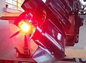 Avertisseur lumineux pour arbre moteur thermique