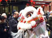 Fêter Nouvel Chinois Londres