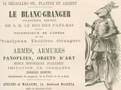 Maison Blanc-Granger, constructeur trône paons kiosque Linderhof