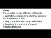 bonus Fifty Shades Darker seraient