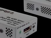 DisplayPort fibre optique