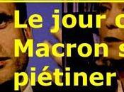 512ème semaine politique: jour Macron s'est fait piétiner Hamon Melenchon