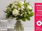 bouquet solidaire Interflora mars