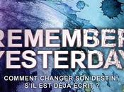 Remember Yesterday suite Forget Tomorrow avril chez Lumen
