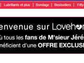 CODE PROMO LOVEHONEY.FR (Tout Site)