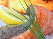 Pavé saumon sauce l'orange