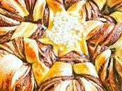 Brioche flocon fleur Nutella