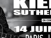 Kiefer Sutherland sera concert Paris Juin 2017 Cigale